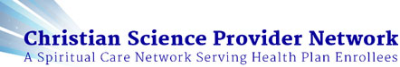 Christian Science Provider Network
